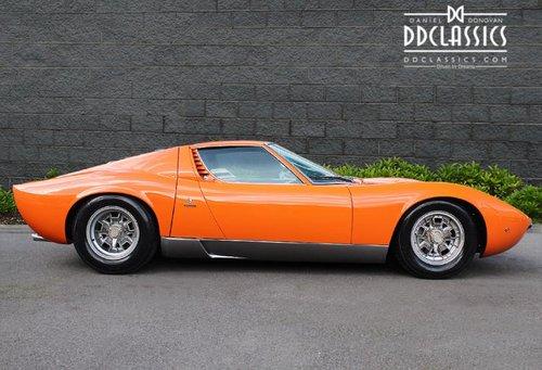1970 Lamborghini Miura P400S (LHD) SOLD (picture 3 of 6)