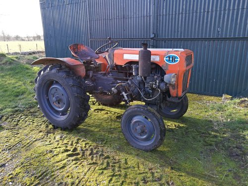 LAMBORGHINI 1R DIESEL TRACTOR,RUNNING PROJECT For Sale (picture 1 of 4)