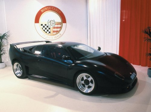 1990 Monte-Carlo Lamborghini: First carbon-chassis GT ever made For Sale (picture 3 of 6)
