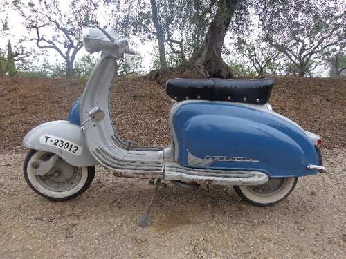 Lambretta 150 LI of 1962 original For Sale (picture 1 of 6)