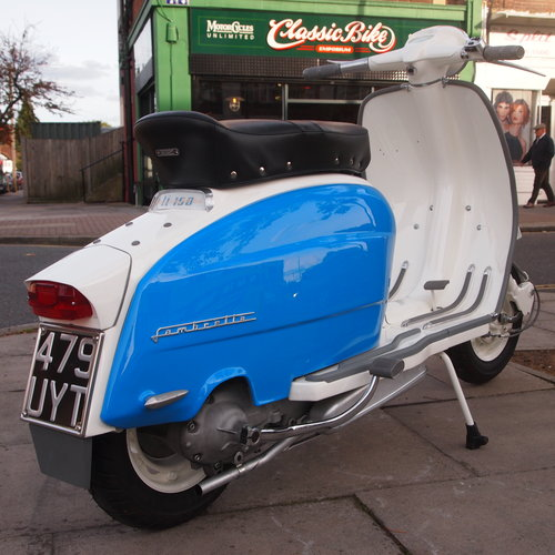 1962 LI 150 Fully Rebuilt To Better Than Show Standard. SOLD (picture 1 of 6)