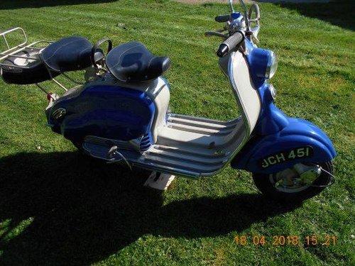 1956 LAMBRETTA LD For Sale (picture 1 of 1)