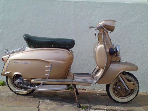 1965 LAMBRETTA LI 150 GOLDEN SPECIAL SOLD (picture 1 of 6)
