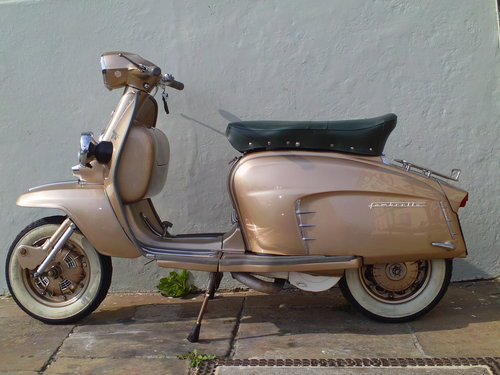 1965 LAMBRETTA LI 150 GOLDEN SPECIAL SOLD (picture 3 of 6)