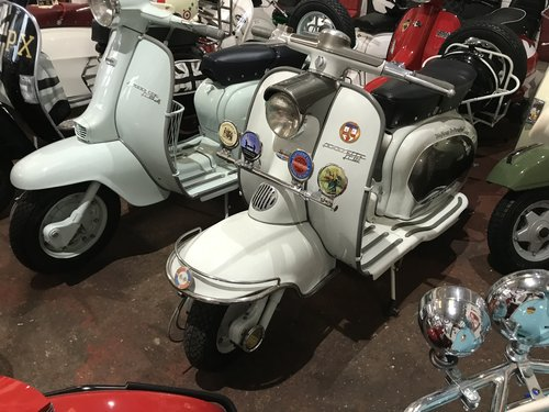1959 Lambretta series1 125/186 fully restored  For Sale (picture 6 of 6)