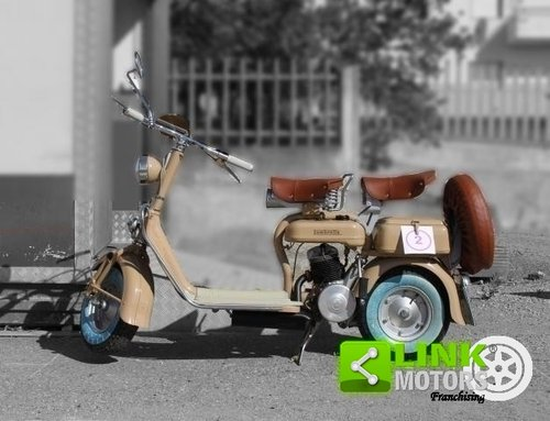 1951 Lambretta 125 C - RESTAURO TOTALE - TARGA ORO ASI - For Sale (picture 1 of 6)