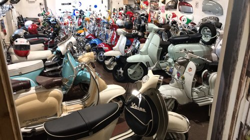 1962 Lambretta li125 1961 ( TV 175 replica series 3 ) For Sale (picture 6 of 6)