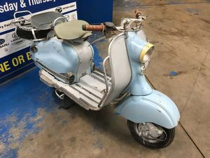 1956 Lambretta 125LD Series II at Morris Leslie Auction 25th May SOLD by Auction