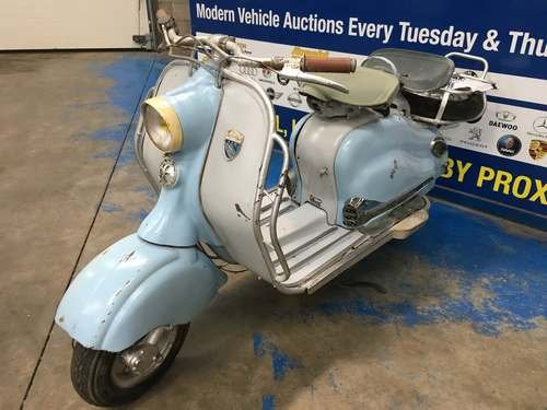 1956 Lambretta 125LD Series II at Morris Leslie Auction 25th May SOLD by Auction (picture 2 of 6)