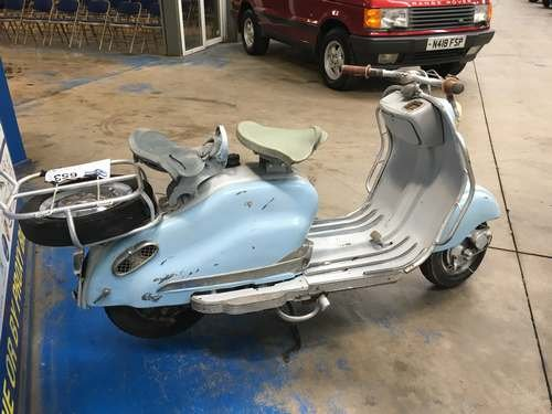 1956 Lambretta 125LD Series II at Morris Leslie Auction 25th May SOLD by Auction (picture 3 of 6)