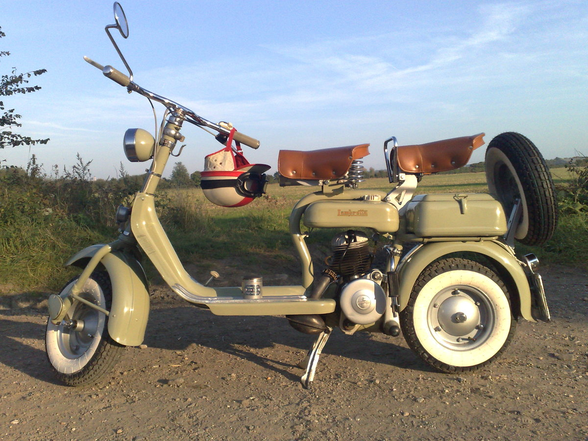 1952 Innocenti Lambretta model D 125 cc For Sale (picture 1 of 1)