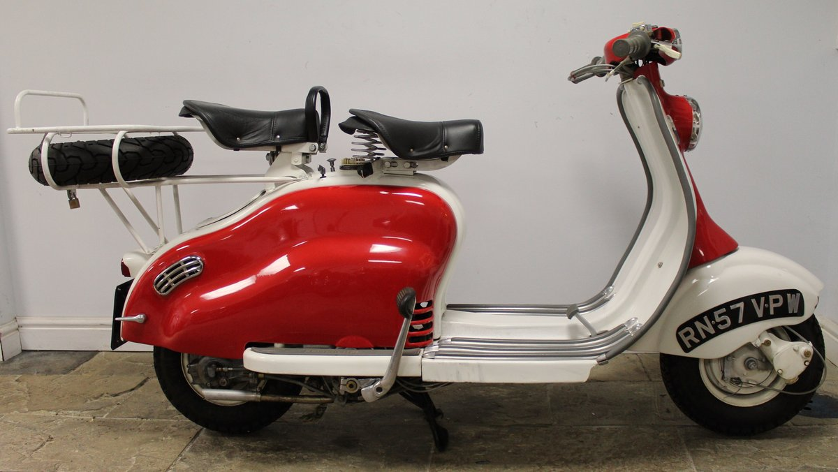 1957 Lambretta LD150 Series 3 Scooter Original UK SOLD (picture 1 of 6)