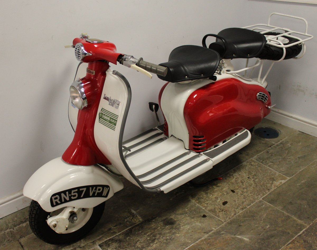 1957 Lambretta LD150 Series 3 Scooter Original UK SOLD (picture 5 of 6)