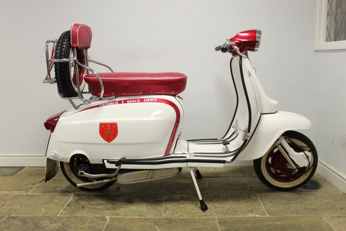 1964 Lambretta Li 150 Scooter With 185cc upgrade kit  SOLD (picture 1 of 6)