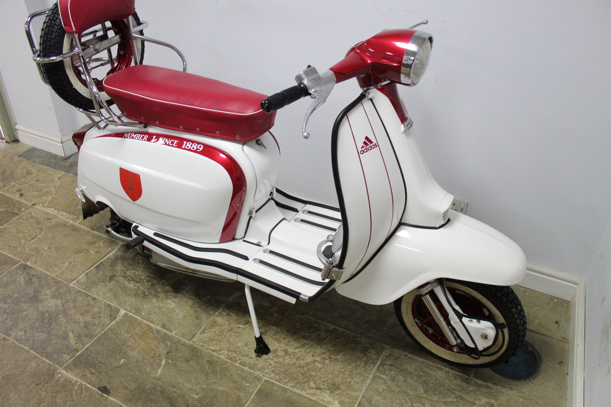 1964 Lambretta Li 150 Scooter With 185cc upgrade kit  SOLD (picture 2 of 6)