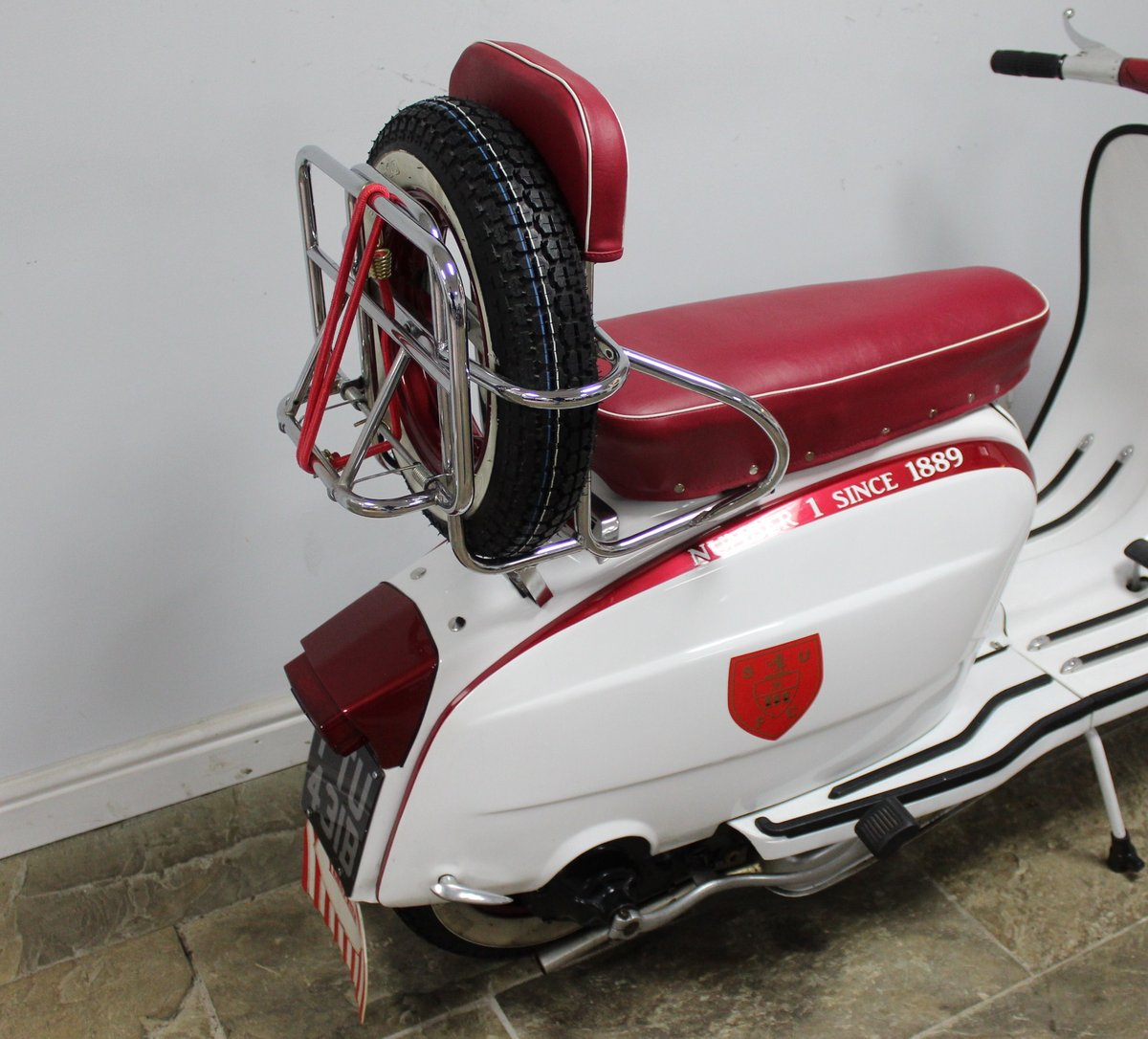 1964 Lambretta Li 150 Scooter With 185cc upgrade kit  SOLD (picture 3 of 6)