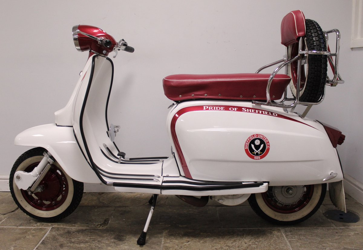 1964 Lambretta Li 150 Scooter With 185cc upgrade kit  SOLD (picture 4 of 6)