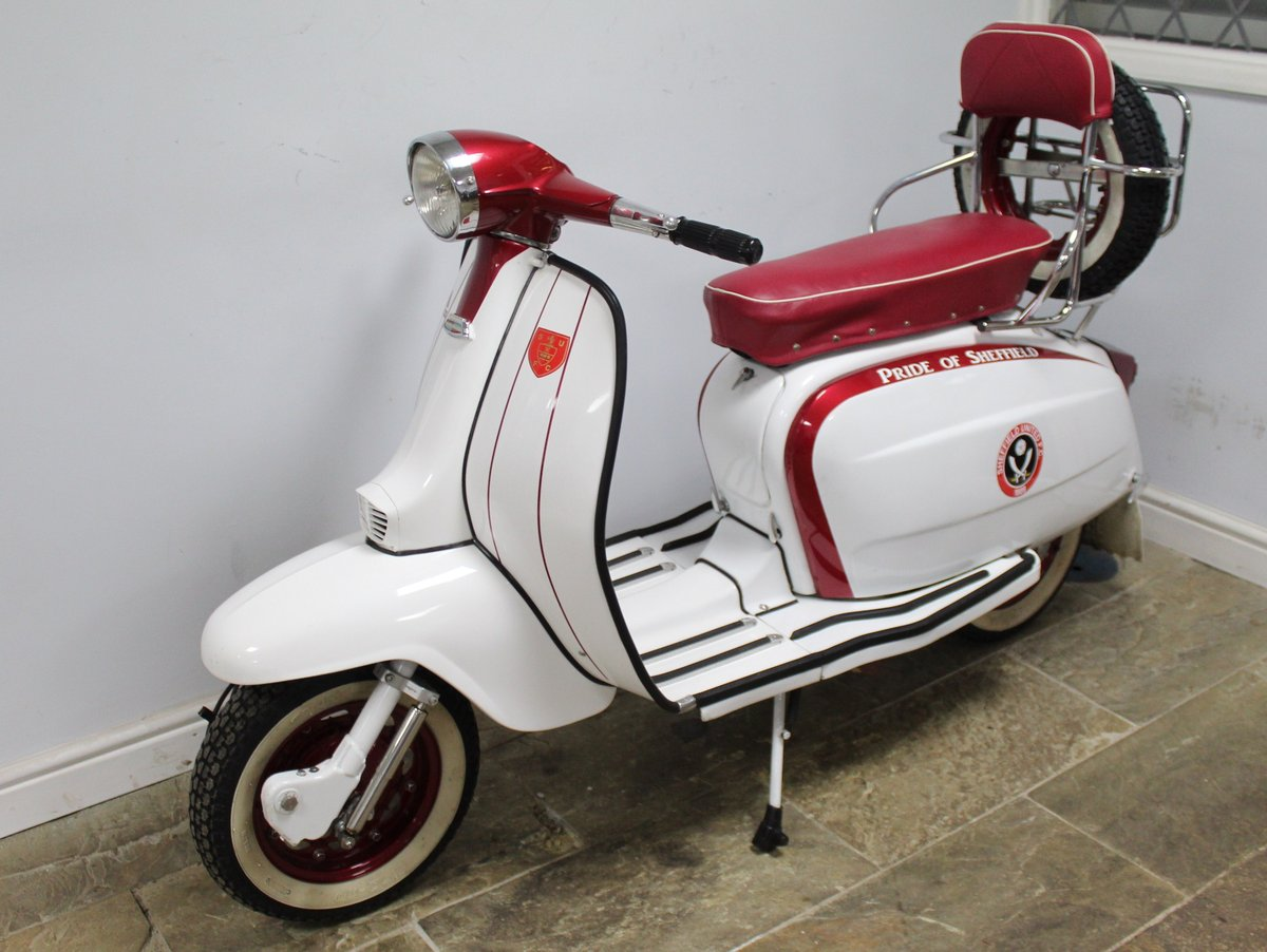 1964 Lambretta Li 150 Scooter With 185cc upgrade kit  SOLD (picture 5 of 6)