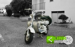 1956 Lambretta 150 D 3MARCE - RESTAURO TOTALE - ASI - For Sale