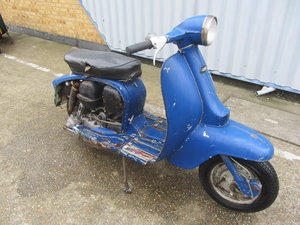 LAMBRETTA LI 125 SER 3 ITALIAN SCOOTER RESTORATION PROJECT For Sale