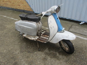 1962 LAMBRETTA LI 150 SER 3 ITALIAN SCOOTER RESTORATION PROJECT  For Sale