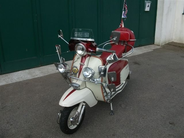 "1967 Lambretta 125, with all ""Mod"" cons!!! SOLD (picture 2 of 6)"