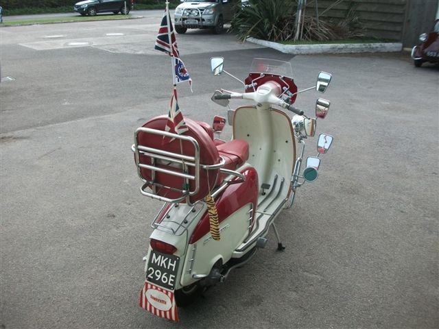 "1967 Lambretta 125, with all ""Mod"" cons!!! SOLD (picture 3 of 6)"
