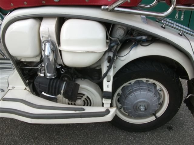 "1967 Lambretta 125, with all ""Mod"" cons!!! SOLD (picture 5 of 6)"
