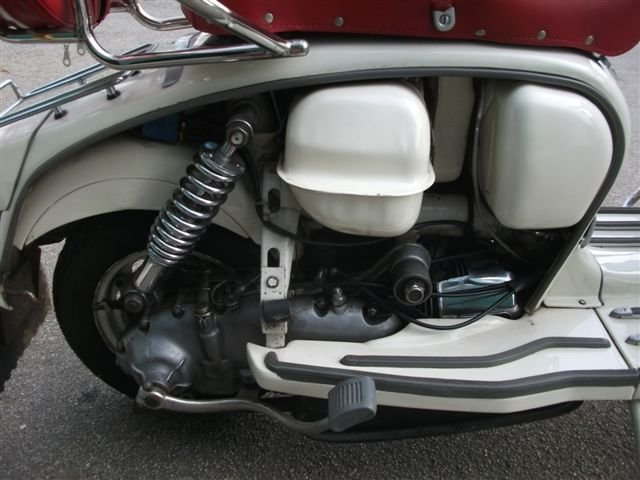 "1967 Lambretta 125, with all ""Mod"" cons!!! SOLD (picture 6 of 6)"