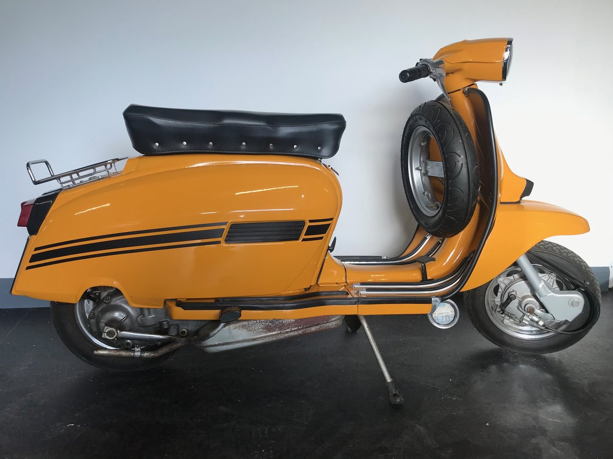 1970 Lambretta GP125 Innocenti, Immaculate For Sale (picture 5 of 6)