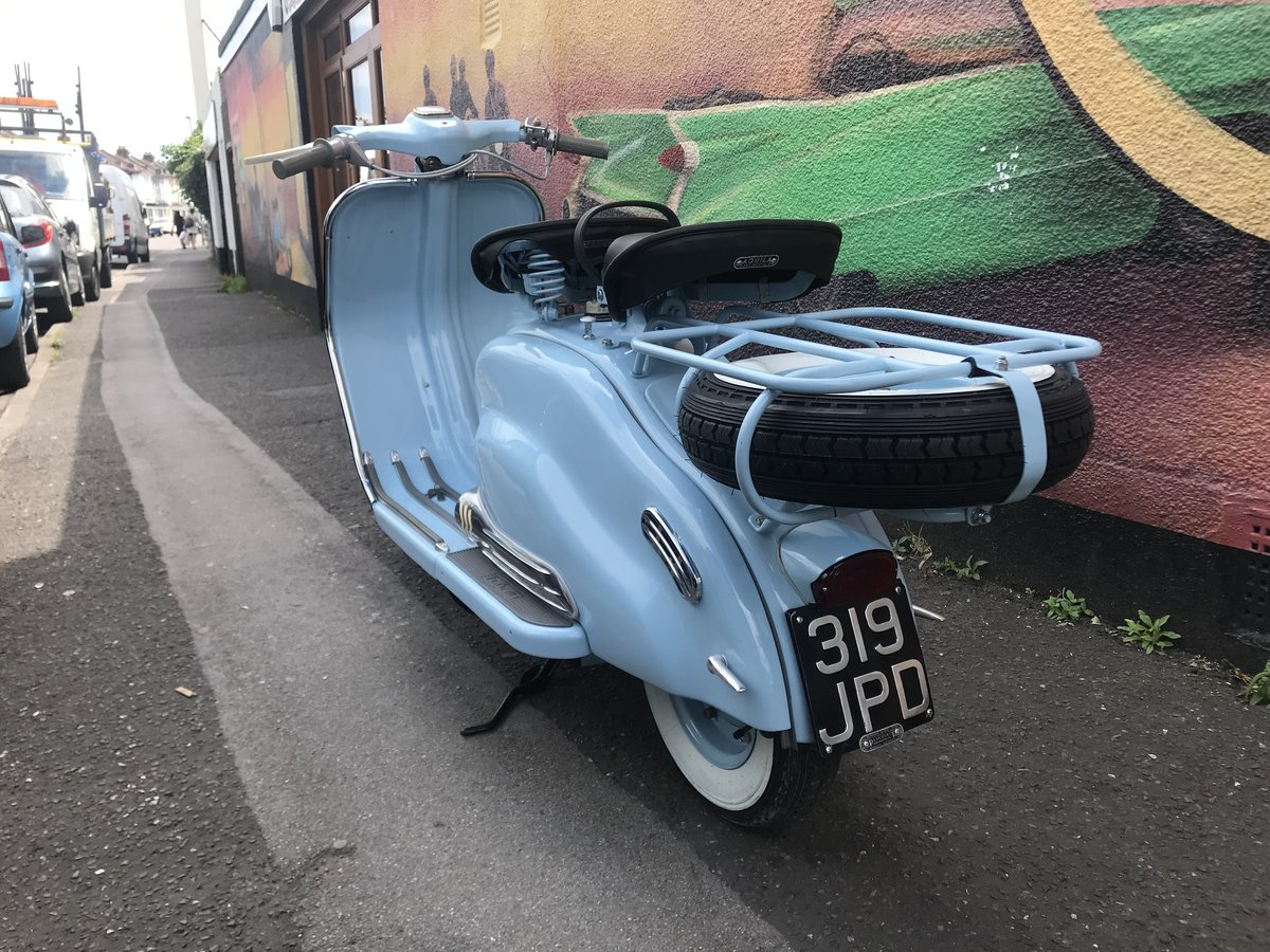 Unique!!! Lambretta LD 1959, one owner, bespoke restoration For Sale (picture 2 of 6)