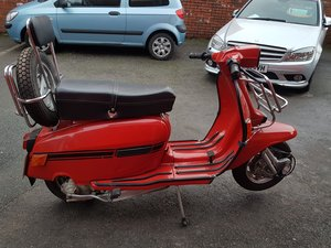 1983 Lambretta gp200 only 37 miles from new