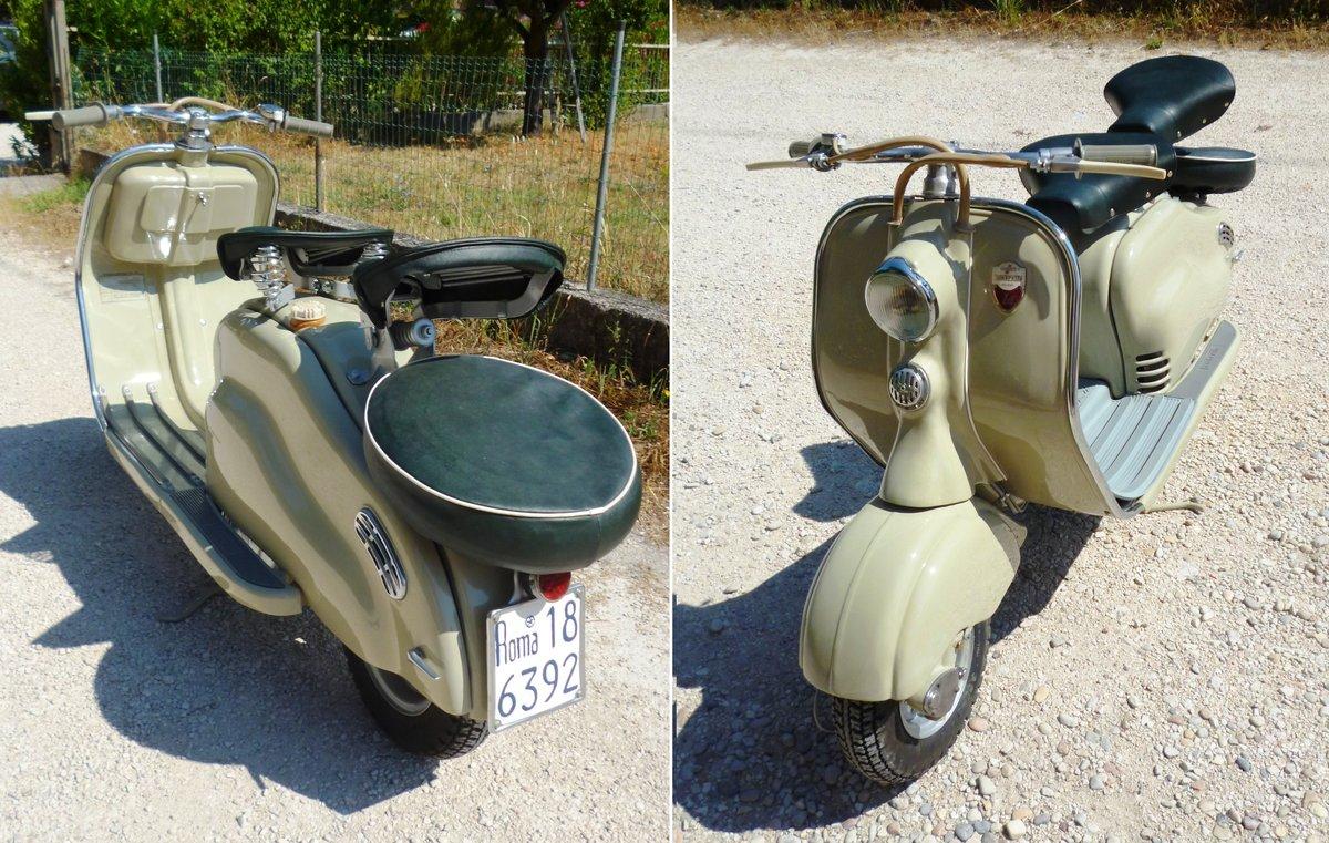 1955 Lambretta 125 LD de luxe SOLD (picture 3 of 6)