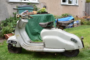 Lot 100 - A 1957 Lambretta LD150 - 10/08/2019 SOLD by Auction