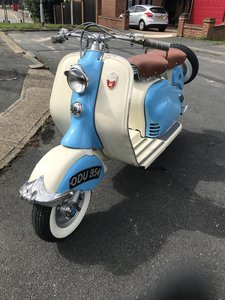 1953 Lambretta LD125 Mk2 UK bike For Sale