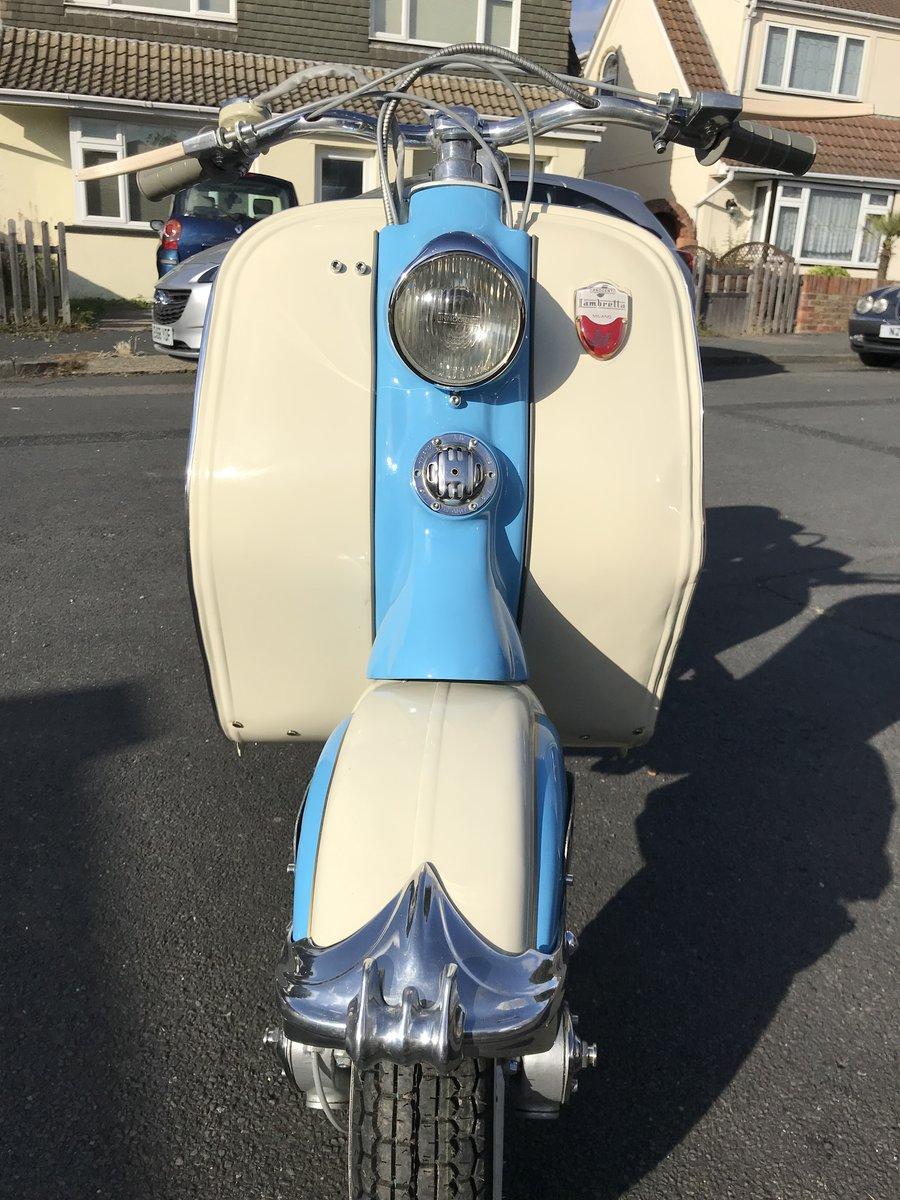 1953 Lambretta LD125 Mk2 UK bike For Sale (picture 4 of 6)