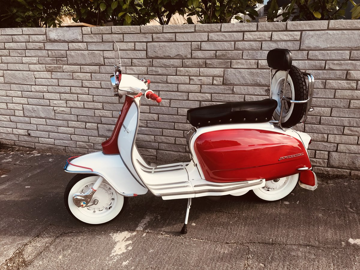 1965 Lambretta li150 Italian scooter For Sale (picture 3 of 6)