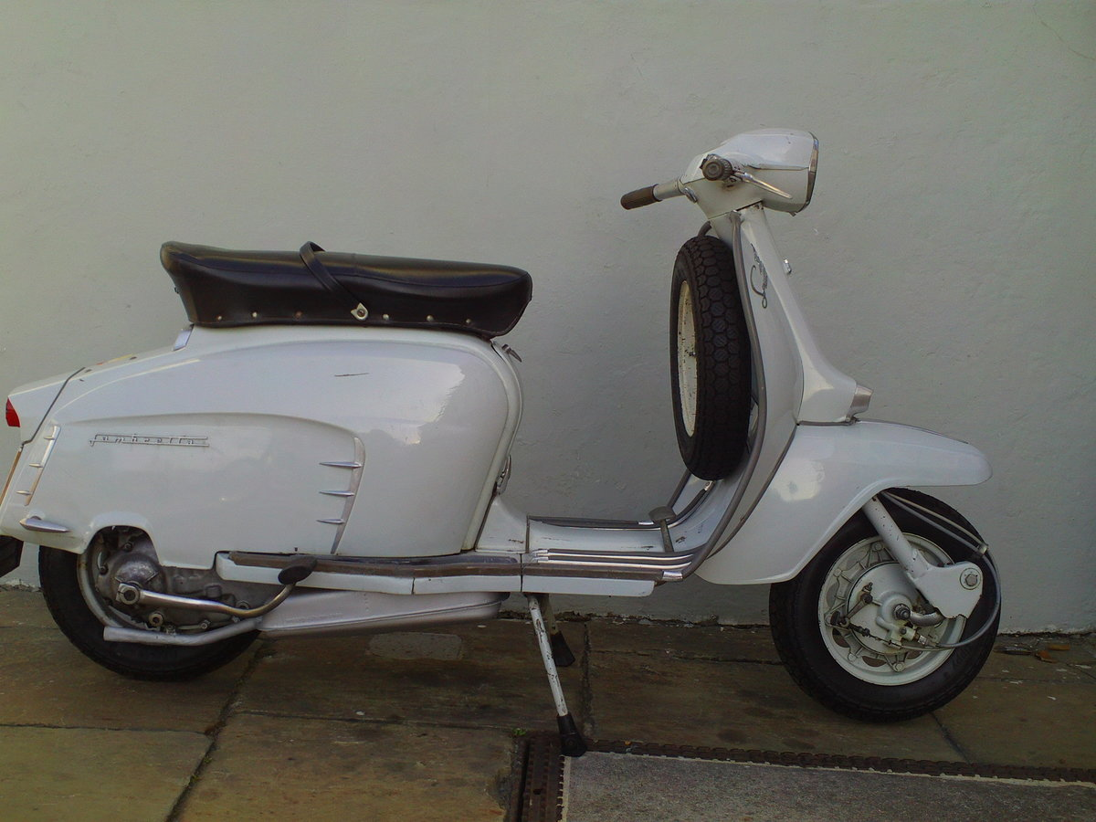 1968 LAMBRETTA SX150  For Sale (picture 1 of 6)