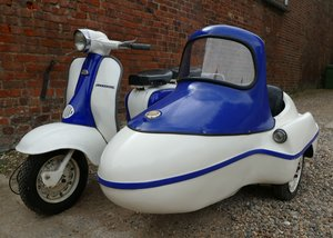 1959 Lambretta Series 2 Li150 with sidecar, 150 cc For Sale by Auction