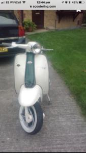 1962 Lambretta li3 195cc