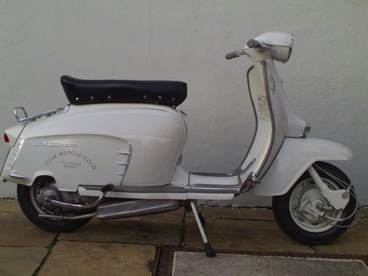 1968 LAMBRETTA SX150 SOLD (picture 1 of 6)