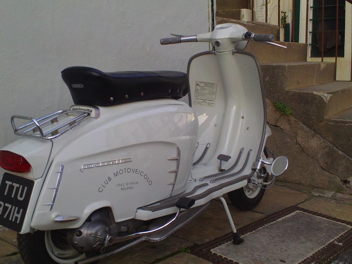 1968 LAMBRETTA SX150 SOLD (picture 2 of 6)