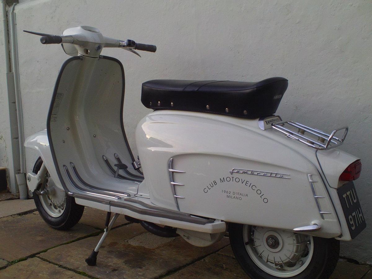 1968 LAMBRETTA SX150 SOLD (picture 4 of 6)