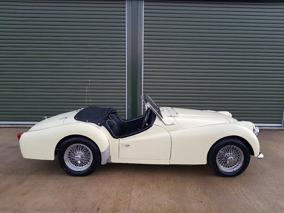 1959 TRIUMPH TR3A 2.0LTR Roadster, Overdrive, Beautiful Condition For Sale (picture 2 of 6)