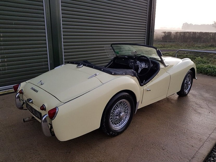 1959 TRIUMPH TR3A 2.0LTR Roadster, Overdrive, Beautiful Condition For Sale (picture 3 of 6)