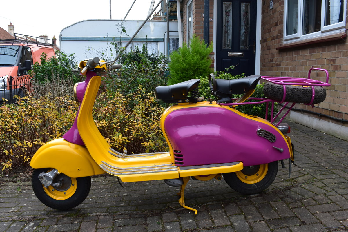 Lot 2 - A 1957 Lambretta 125LD - 02/2/2020 SOLD by Auction (picture 1 of 1)