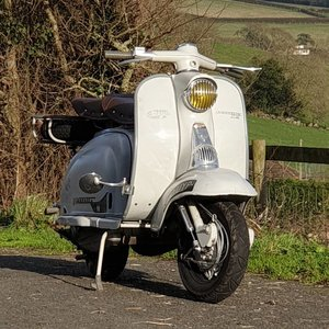1958 Lambretta  framebreather For Sale