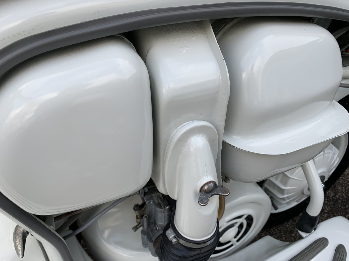 1960 Lambretta li125 /185cc Italian scooter fully restored For Sale (picture 3 of 6)