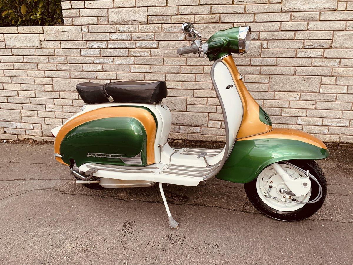 1960 Lambretta li125 /185cc Italian scooter fully restored For Sale (picture 4 of 6)
