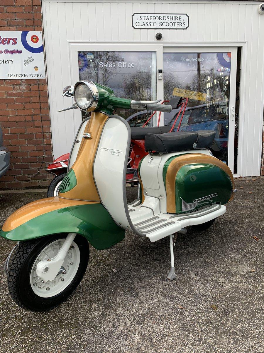 1960 Lambretta li125 /185cc Italian scooter fully restored For Sale (picture 5 of 6)